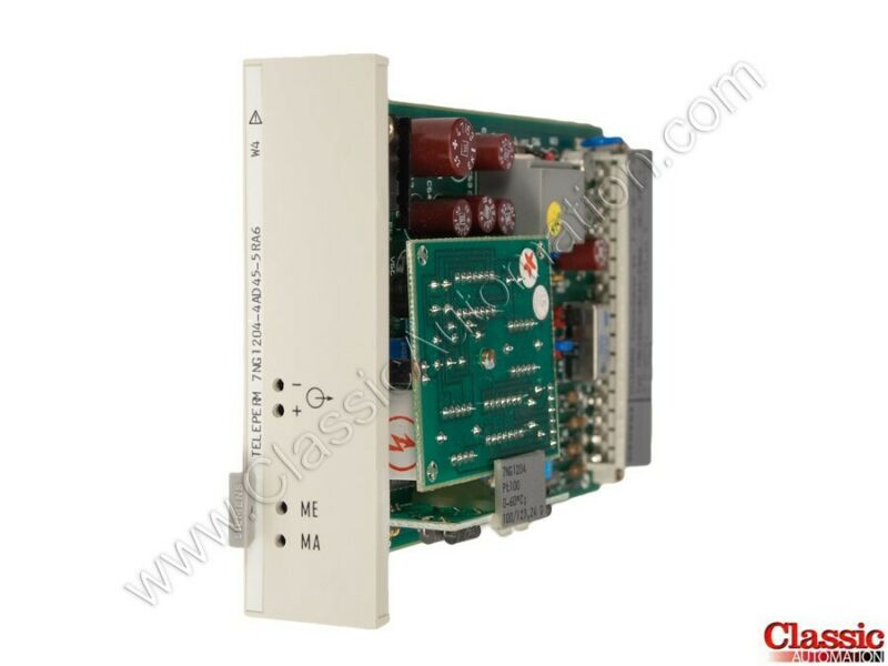 Siemens | 7NG1204-4AD45-5RB5 |Temperature Transmitter Module (new)
