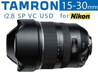 Tamron 15-30mm f2.8 SP Di VC USD Ultra Wide Zoom Lens for Nikon Full Mount