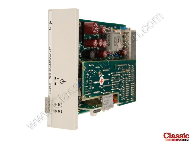 Siemens| 7NG1205-4AD45-5KA2 | Temperature Transmitter Module (new)
