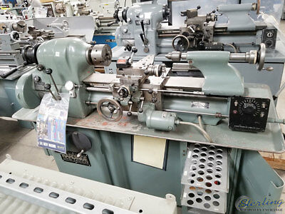 11 X 18 Used Hardinge Precision Tool Room Lathe With Inch Threading Hlv A4860