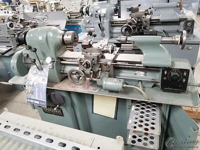 11 X 18 Used Hardinge Precision Tool Room Lathe With Inch Threading Hlv A4860