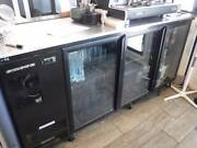 Scope Stainless steel 3 door under counter fridge Norman Park Brisbane South East Preview