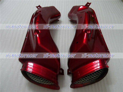 Ram Air Intake Tube Duct Cover Fairing Fit for GSX-R 600/750 2001-2003 Pearl Red