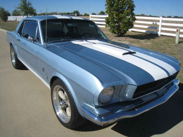 Ford : Mustang GT 350 1966 Ford Mustang GT350 Restomod Coupe 289 V8 auto w/ Powersteering
