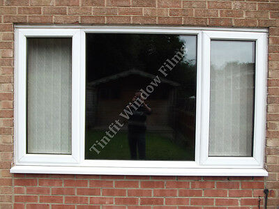 Total Blackout Privacy Glass Window Film Block Out 100