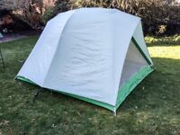2 man tent with fly sheet and sewn in groundsheet weighs 4.5 kilos