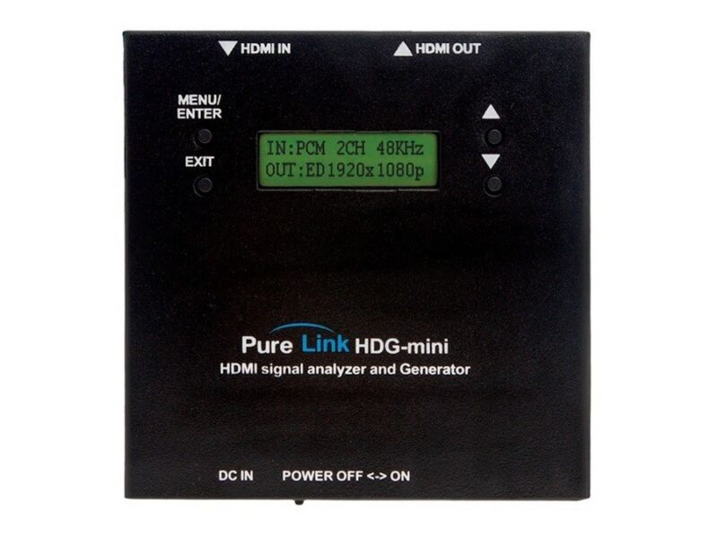 Purelink Hdg-mini Hdmi/dvi Full Hd Signal Analyzer