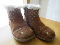 girls boots, M&S - size UK10