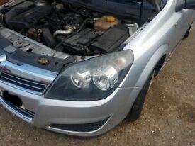 Vauxhall Astra H Left Side Headlight 2009