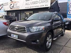 2007 Toyota Kluger KX-S Auto 5sp 4x4 ( Finance $114 pw*) Dandenong Greater Dandenong Preview