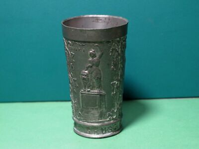 GRUSS AUS MUENCHEN Tin - Vintage Souvenir Munich - Antique Style