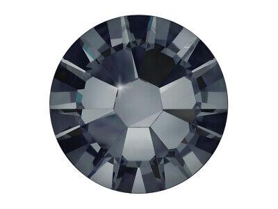 2058 Crystal (Swarovski® Crystal Kristall graphite 1.75mm Nail Art Strass Steine UV Gel)