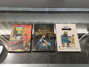 Anime movies/films