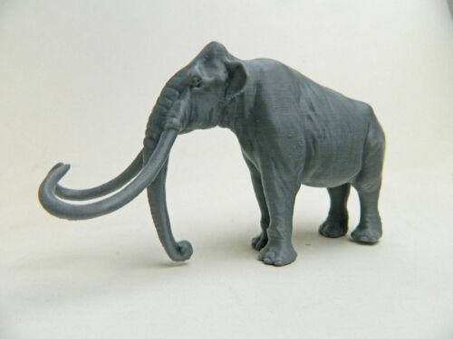Columbian Mammoth 1/48 Scale Grey 3D Plastic Model Rare!!