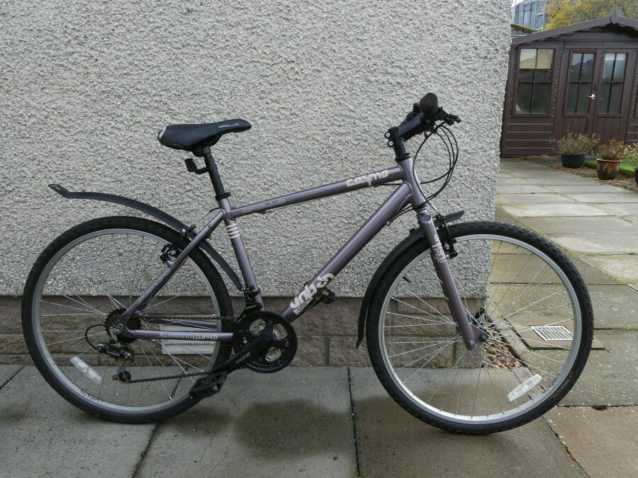 "17"" Apollo Cosmo Urban Mountain Bike for sale"