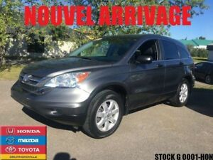 2011 Honda CR-V LX+MAG+JAMAIS ACCIDENTÉ+CLEAN CAR+BAS MILAGE++