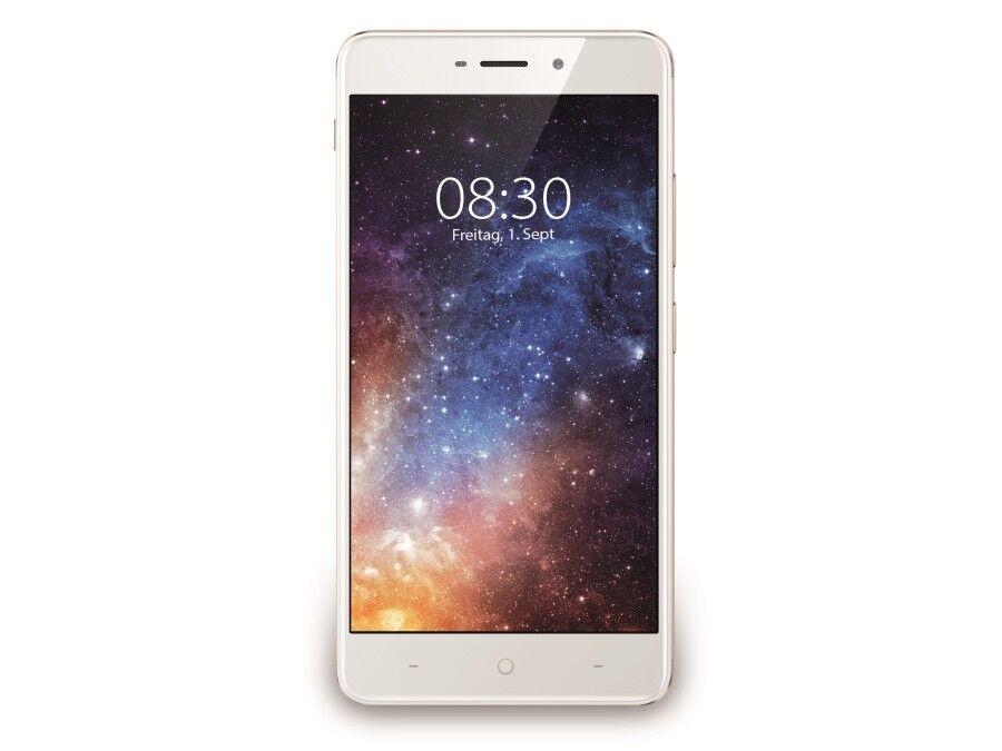 TP-Link Neffos X1 32GB gold 5 Zoll Smartphone 13MP Fingerprint 3GB LTE Dual SIM