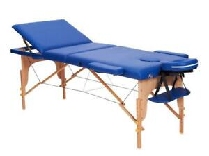 TABLE DE MASSAGE BOIS 3 SECTIONS MELODY NATURA