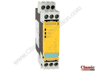 Siemens 3tk2841-1bb40 Solid State Safety Relay 24v Dc Unit Refurbished