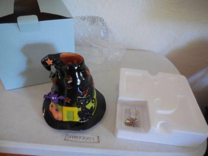 Partylite Halloween Ceramic Spooky Witch