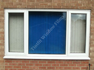 Non reflective blue 60 one way pro window tinting tint for 1 way window tint