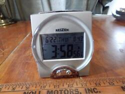 REIZEN TALKING CLOCK DATE TIME LARGE DISPLAY RADIO CONTROLLED VISUAL IMPAIRED
