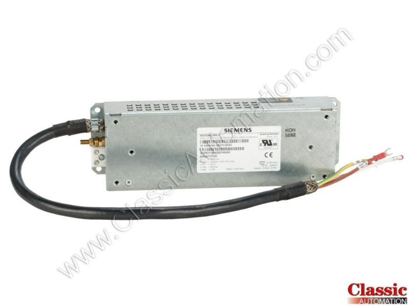 Siemens | 6SE6400-4BD11-0AA0 | Braking Resistor (Refurbished)