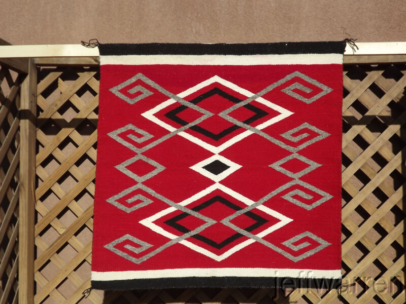Navajo Beautiful Ganado Contemporary Rug