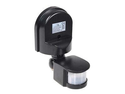 Sensor de Movimiento de Pared 180º PIR Detector Luz de Seguridad Ajustable