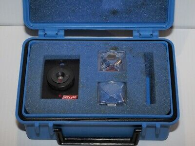 Spectra-tech Micro Sample Compression Cell And Diamond Window Set For Ftir