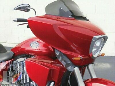 Victory Cross Country Lower Fairing Wind Deflectors Magnum tour  Brand New