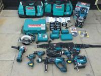 Makita 18v Lxt Drills ,Jigsaw,impact Driver,torch,rip Saw,grinder,radio,etc