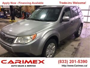 2010 Subaru Forester 2.5 X Outdoor Package AWD | CERTIFIED
