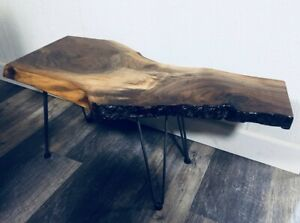 Premium Live Edge Coffee Table - Offers Welcome
