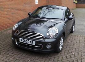 Mini Cooper Coupe 1.6 (2012) - Grey - Immaculate Condition