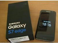 Samsung galaxy s7 edge black 3 week old unlocked swap for iPhone 6s plus 128gb