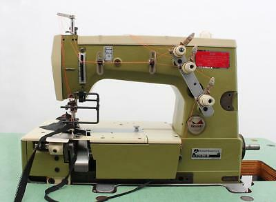 Rimoldi 263 Elastic Attaching Coverstitch 2n 3t 316 Industrial Sewing Machine