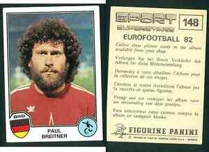 Breitner-Germania-Eurofootball-82-Sport-Supertsars-Edizioni-Panini-VG-n-148