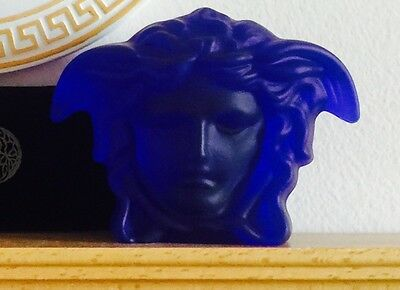 VERSACE MEDUSA PAPERWEIGHT ROSENTHAL  AUTHENTIC  ESTATE