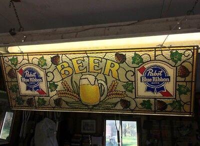 Vintage Pabst Blue Ribbon Beer Sign for sale  Warren