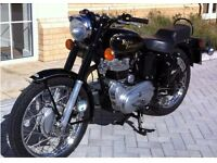 2006 ROYAL ENFIELD BULLET 500 CC BLACK - 1245 MILES - £2399.00