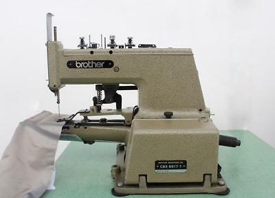 Brother Cb3-b917-1 Pleat Spot Drapery Tacker Industrial Sewing Machine 110v