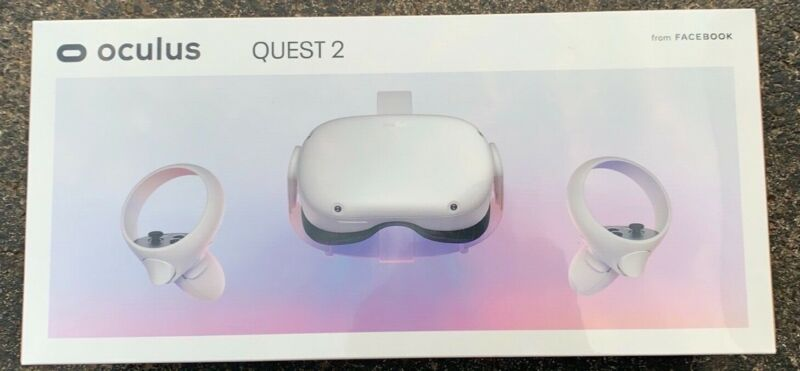Oculus Quest 2 256GB VR Headset - White - New in box