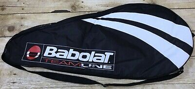 Babolat Team Line Tennis Racquet Cover Case Zipper Shoulder Bag Excellent for sale  Shipping to Canada