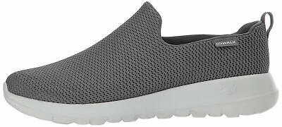 - Skechers Mens Go Walk Max Fabric Low Top Slip On Walking, Charcoal, Size 9.5