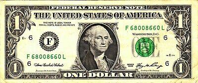 1 2006 Fancy Serial F68008660L - $2.50