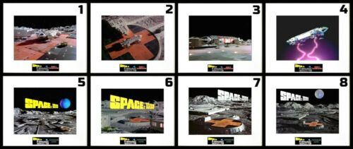 """8 SPACE 1999 Eagle Transporter/Base 8""""x10"""" Photos -11""""x14"""" Matted - CHOOSE ANY 1"""