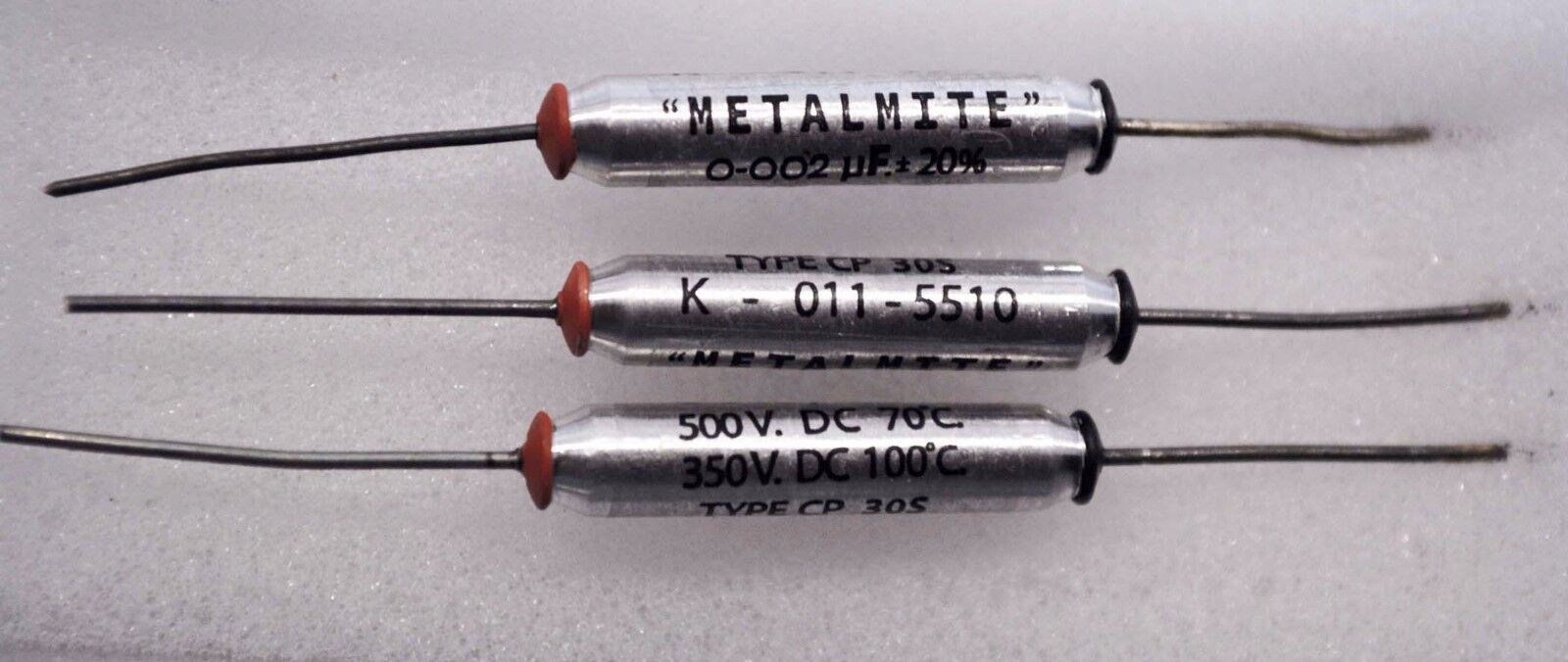 "E11 ""metalmite"" reproduction capacitors stormtrooper blaster cylinders"