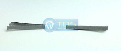 12 Pcs Dental Abrasive Stainless Steel Finishing Polishing Strips 4mm Medium