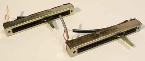 AKAI CS-34D Working Recording Level Faders-Vintage Cassette Deck